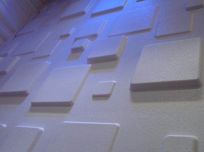 3D Wandpaneele Fliesen Mosaik Naturstein Deckenplatten Wandverblender