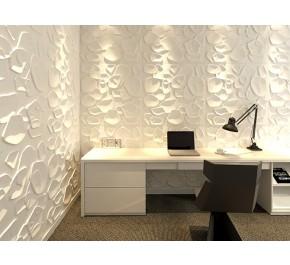 3D Reliefplatten | Wandplatten | Designplatten - Wohnzimmer / Interior Design DUCKWEED
