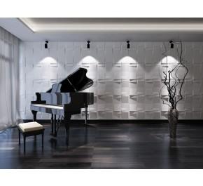 3D Reliefplatten | Wandplatten | Designplatten - Modegeschäft / Boutique ECHO