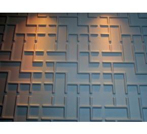 3D Wand | Wandplatten | Wandpaneel TETRIS