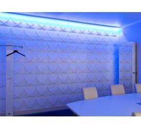 3D Wandpaneele | Wanddesign | Bambusplatten WINDMILL