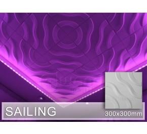 3D Wandpaneel SAILING - 2. Wahl, 44 Stk.