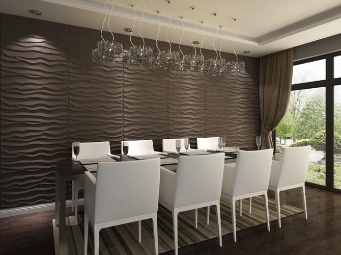 3D Wandpaneele | Wohnungs-Design | Wandverkleidung - Dekor BEACH ...